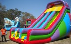 22ft Dual Lane Giant Dry Slide