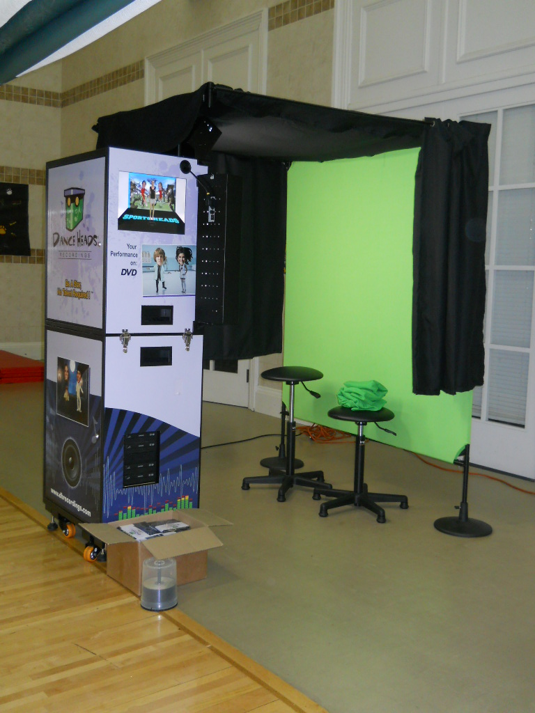 Dance Heads Portable Recording Booth
